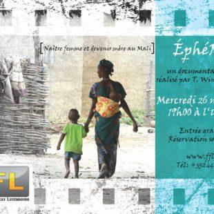 «ÉphéMère». Naître femme – devenir mère au Mali