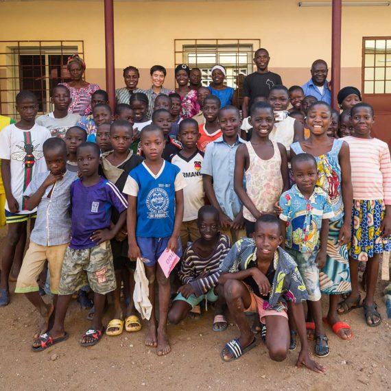 Prise en charge des enfants des rues de Bouaké (gallery)
