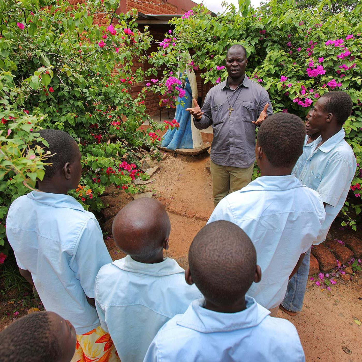 Les jeunes jardiniers de Dédougou