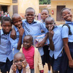 Betreuung von Straßenkindern in Bouaké