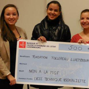 15-jährige Schülerin unterstützt FFL