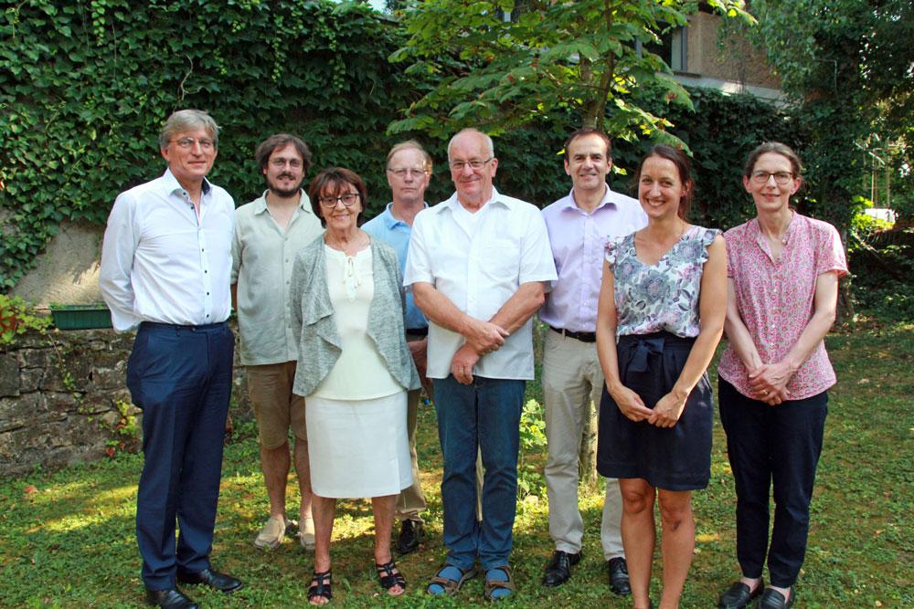 Conseil d'Administration de la Fondation Follereau Luxembourg