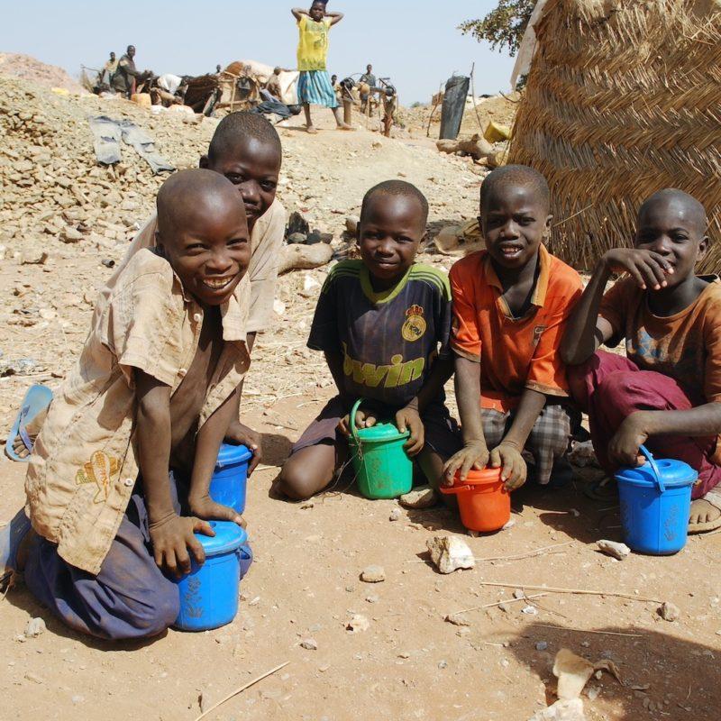 Prise en charge des enfants des mines de Tougouri, Burkina Faso