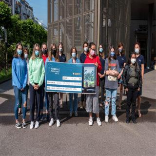 Remise chèque vum Fieldgen fir d'Fondation Follereau !